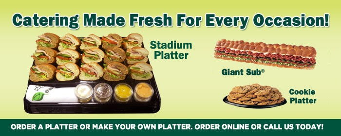 NEED A CATERER?